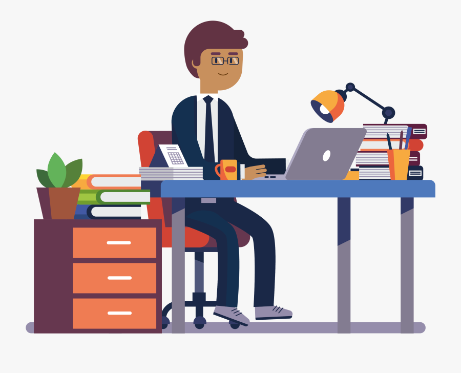 Simba Branch Office - Clip Art Employee, Transparent Clipart