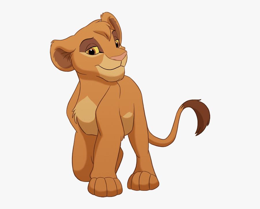Simba - Simba Nala Lion King Characters, Transparent Clipart