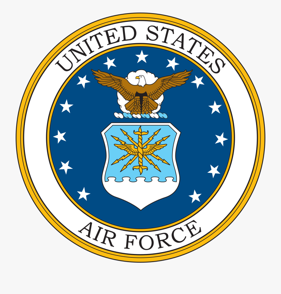 Clip Art United States Wikipedia - Us Air Force Logo Png, Transparent Clipart