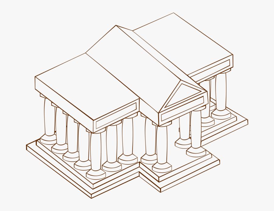 Line Art,square,angle - University Clip Art, Transparent Clipart