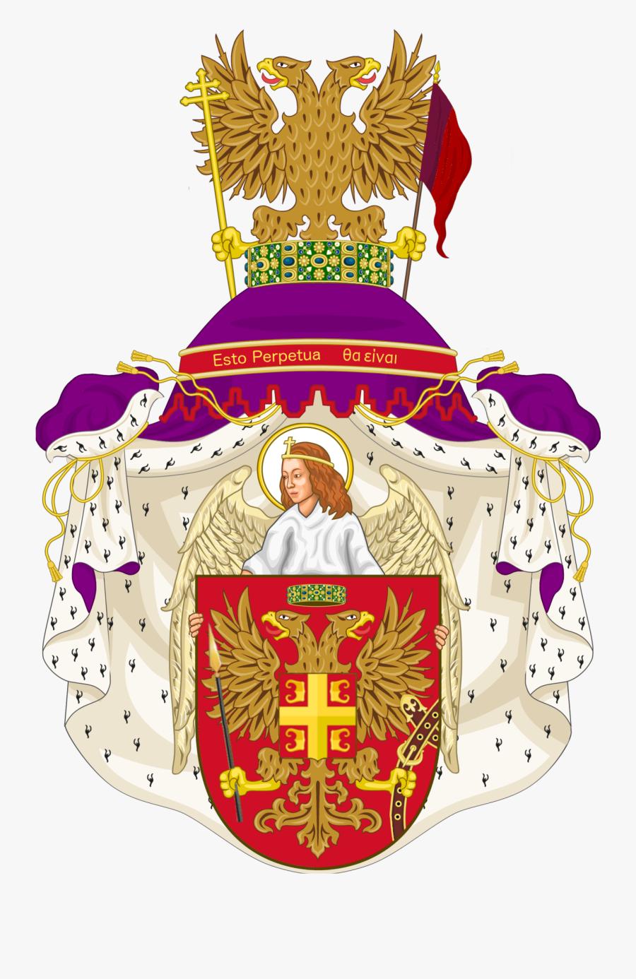 Transparent Roman Senate Clipart - Byzantium Coat Of Arms Great, Transparent Clipart