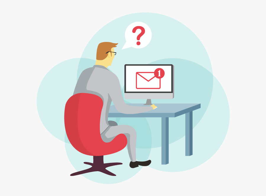 Write An Email Clipart, Transparent Clipart