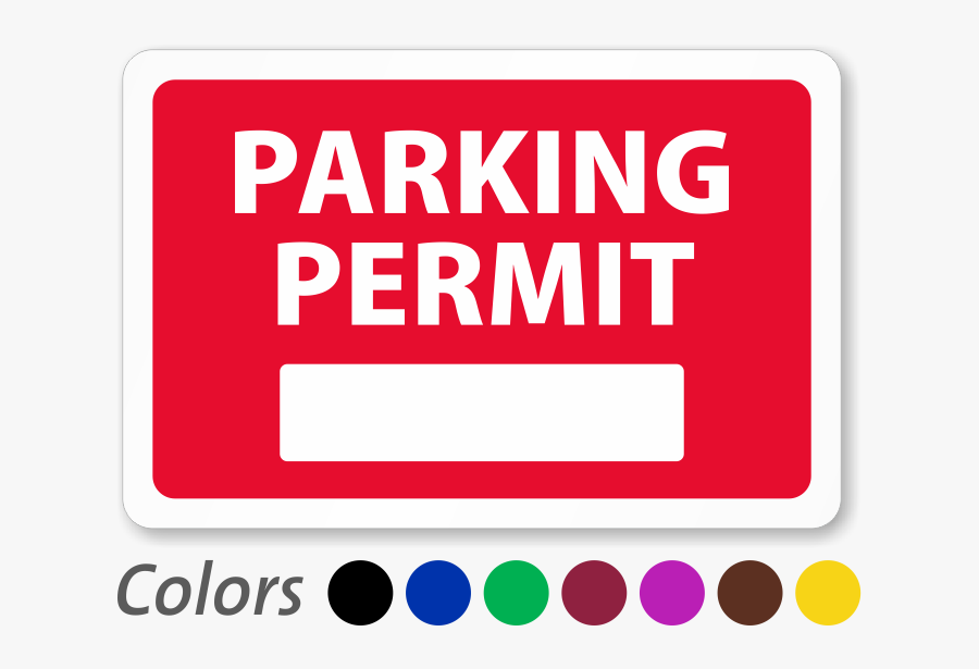 Parking Permit For Inside Of Car Window, Colored - Sticker ... (900 x 615 Pixel)
