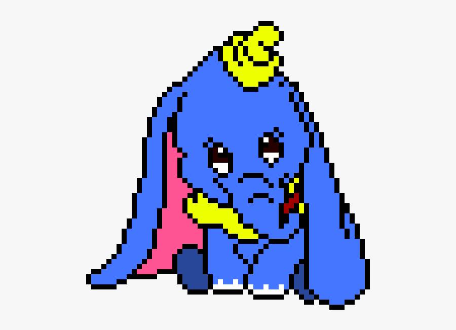 Dumbo Pixel Art Pixel Art Disney Dumbo Free Transparent