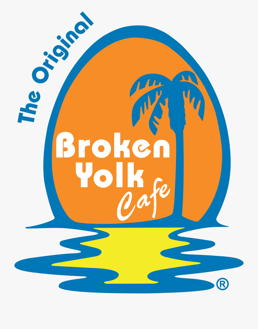 The Broken Yolk Cafe - Broken Yolk Cafe Logo, Transparent Clipart