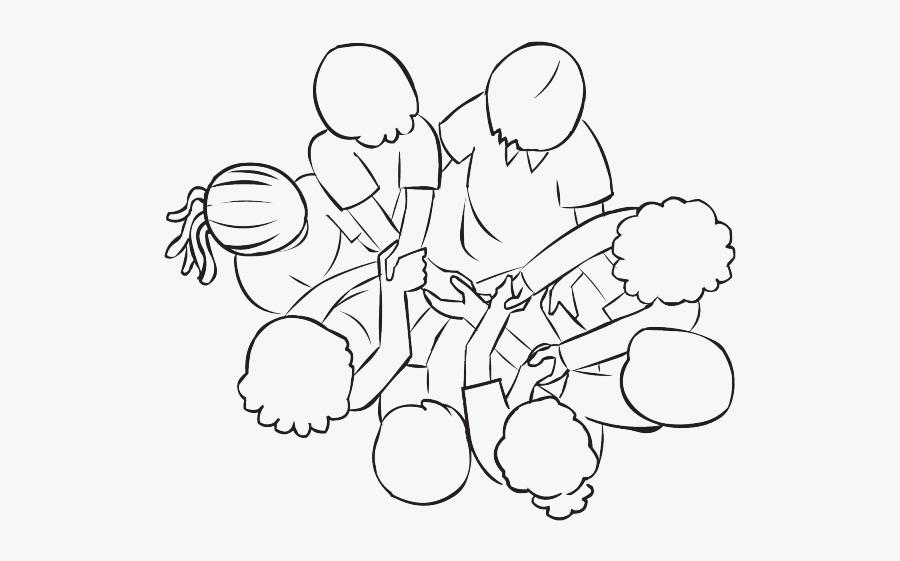 Team Building Game Human Knot, Transparent Clipart