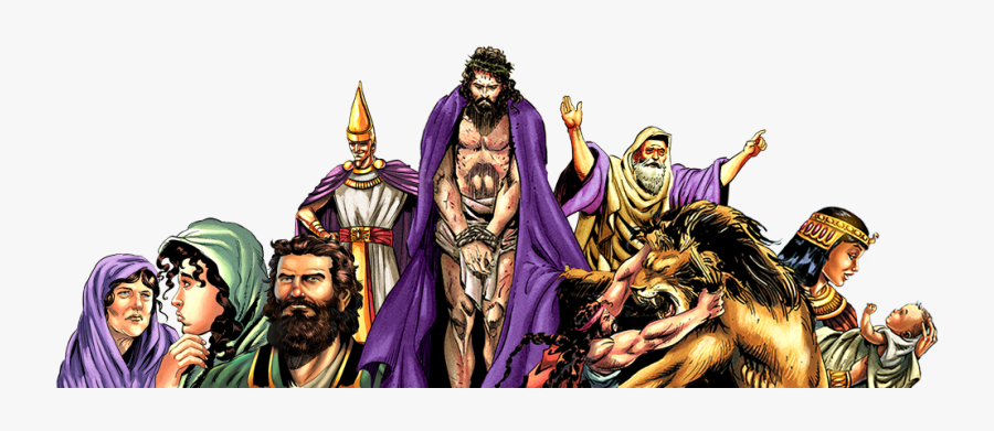 Characters - Characters In The Bible Png, Transparent Clipart