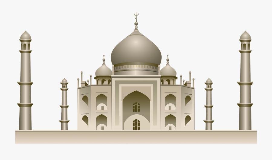 Transparent Taj Mahal Png, Transparent Clipart