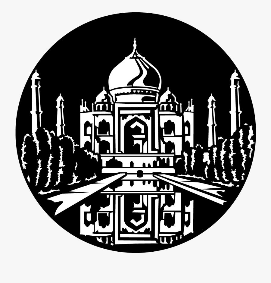 Gobo Taj Mahal, Transparent Clipart