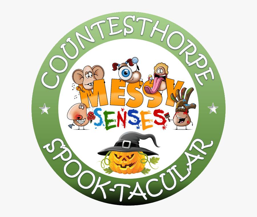 Messy Senses Halloween Special Logo - Cartoon, Transparent Clipart