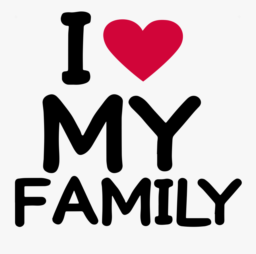 Love My Family Clipart , Png Download - Happy Family Whatsapp Group, Transparent Clipart