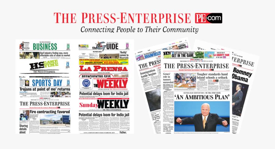 Special Sections The Press - Press-enterprise, Transparent Clipart
