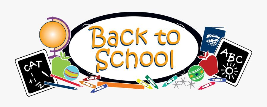 Clip Art Back To School Png - Back To School Png Transparent, Transparent Clipart