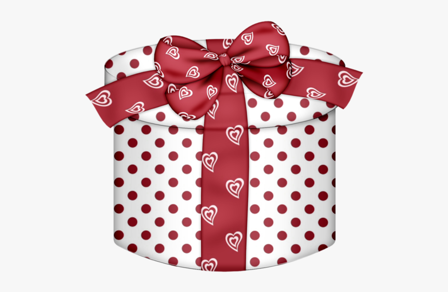 Red And White Red Gift Boxes, Transparent Clipart