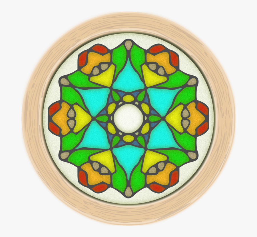 Glass,material,window - Stained Glass, Transparent Clipart