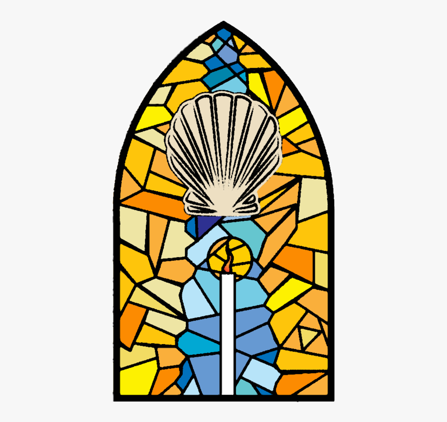 Catholic Seven Altarpiece Of Stained Glass Sacraments - Sacraments Of The Catholic Church, Transparent Clipart