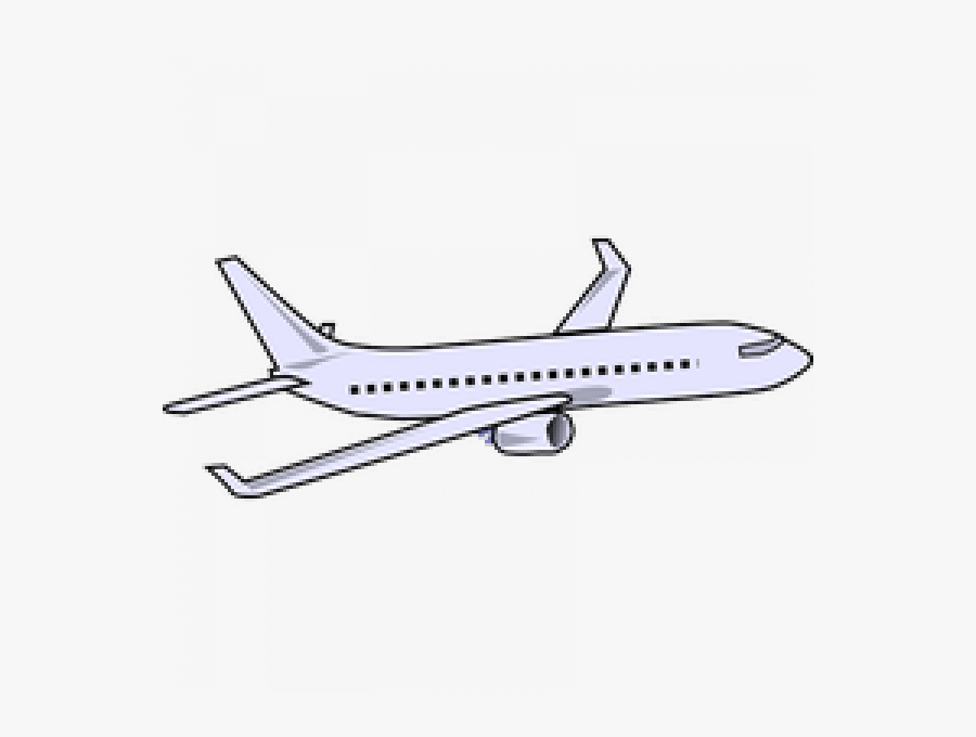 Transparent Plane Pulling Banner Clipart - Plane Clipart Transparent, Transparent Clipart