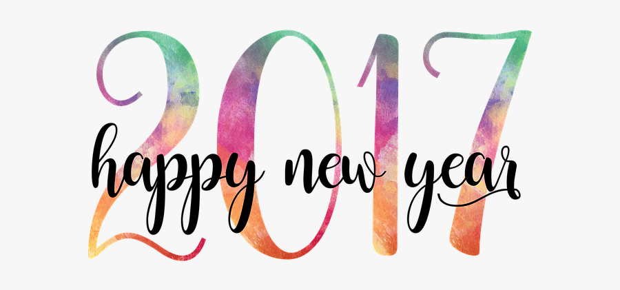 New Year, 2017, Happy New Year, New, Year, Greeting - Happy New Year 2017 Png, Transparent Clipart