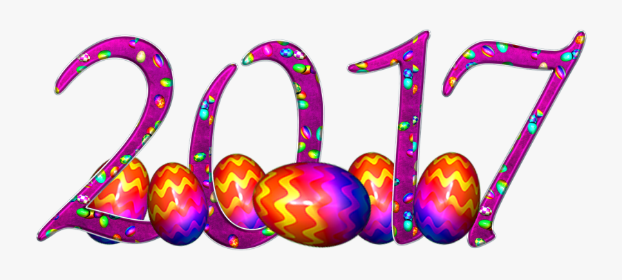 Easter New Year 2017 Free Picture - Húsvét 2017, Transparent Clipart