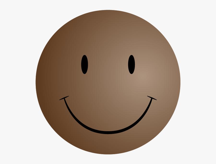 Mini-me Smiley Real Estate Election - Brown Smiley Face Emoji, Transparent Clipart