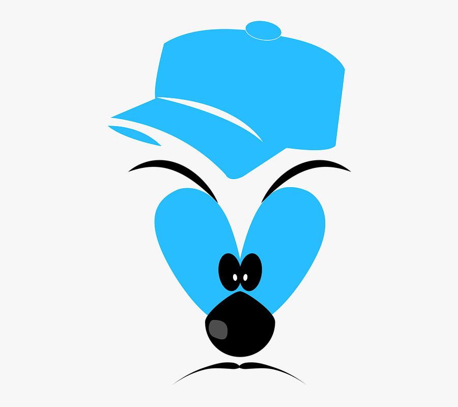 Character Mean Face Cartoon Mad Face - Cara De Mau Desenho, Transparent Clipart