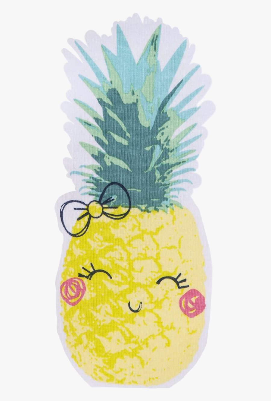 Made By @swalker3 - Pineapple Cartoon Summer Backgrounds, Transparent Clipart
