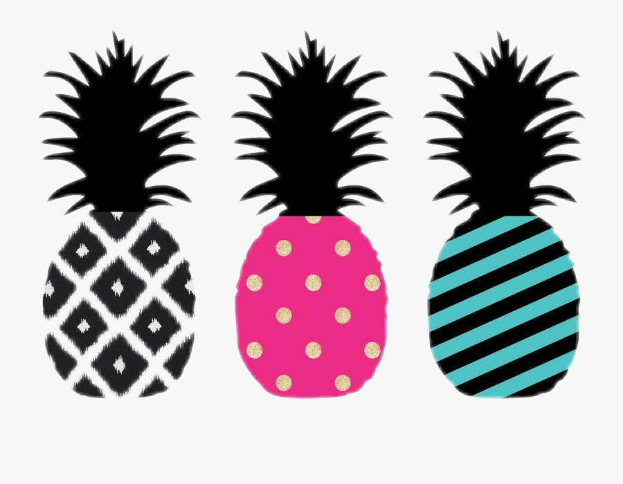 #tumblr #collage #cute #party #abacaxi #pineapple #love - Imagens De Abacaxi, Transparent Clipart