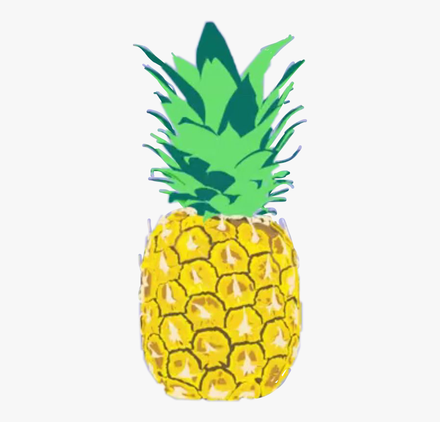 #freetoedit - Pineapple, Transparent Clipart