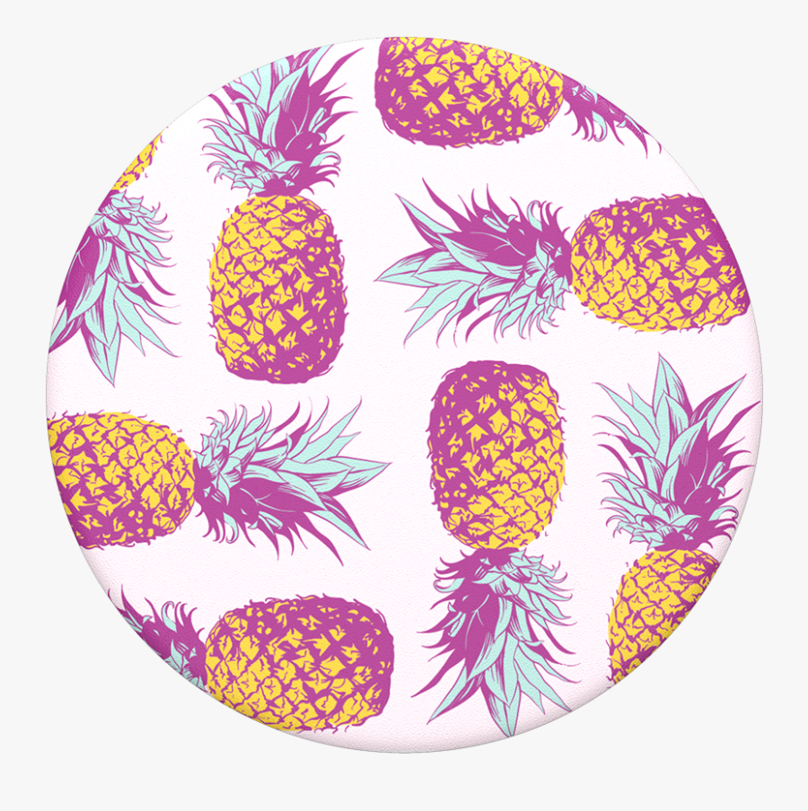 Transparent Pinapple Png - Seamless Pattern Pineapple Background, Transparent Clipart