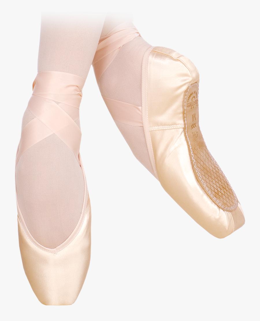 Maya Ii Pointe Shoes Bloch Ballet Sapatilha De- - Ballet Flat, Transparent Clipart