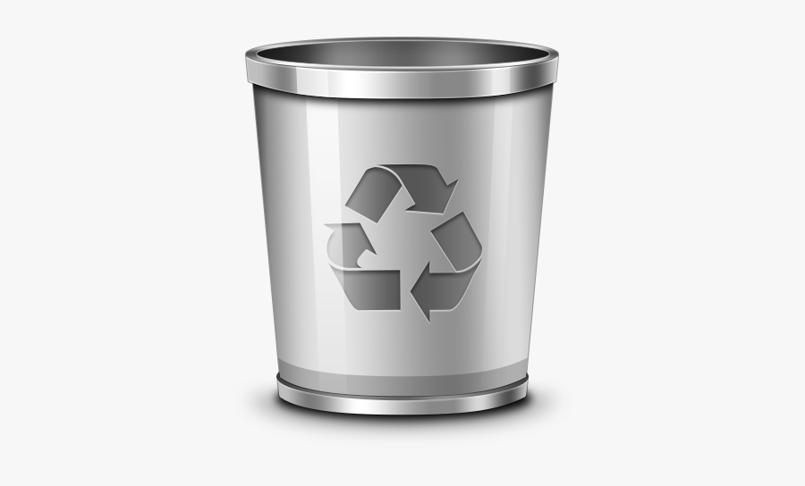 Trash Recycling Bin Waste Container Icon - Recycle Bin Icon, Transparent Clipart