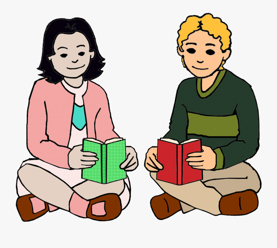 Motivating Struggling Readers - Students Talking Clipart Png, Transparent Clipart