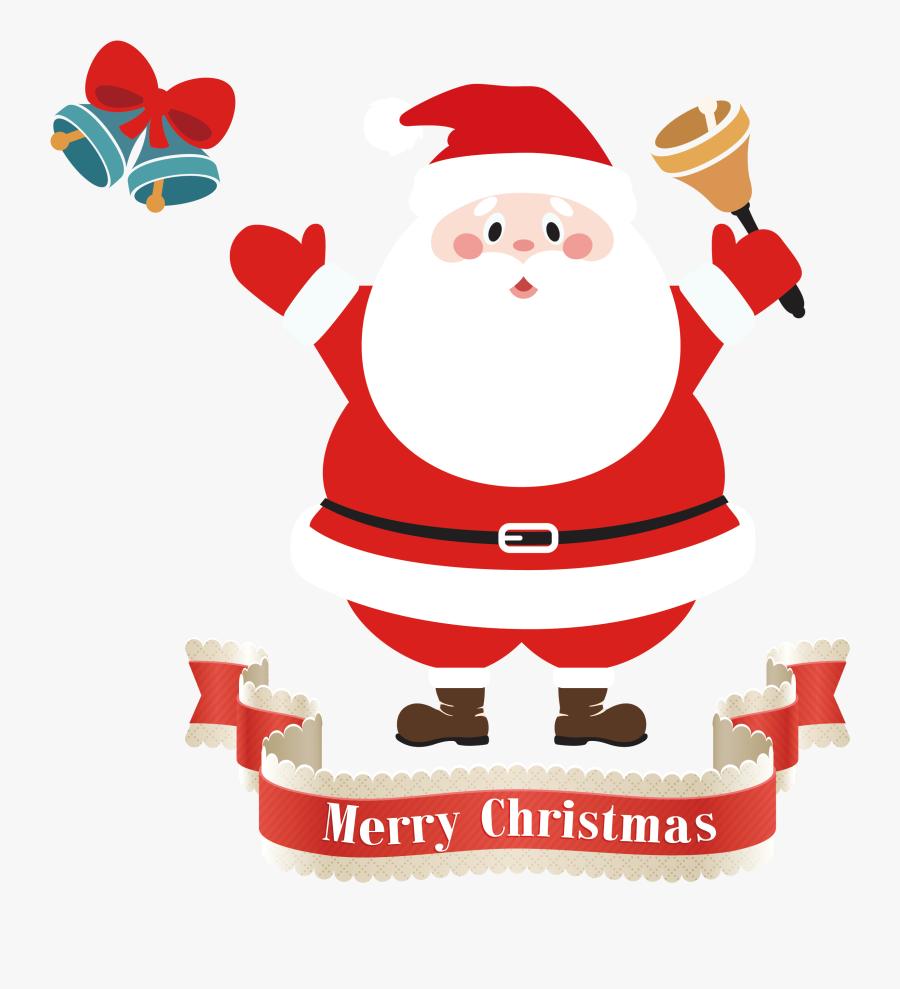 Clip Art Mrs Claus Santa North - Santa Claus Cartoon Png, Transparent Clipart