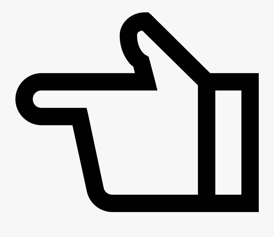 Transparent Left Hand Clipart - Emoji Png Hand Gesture Left Emoji, Transparent Clipart