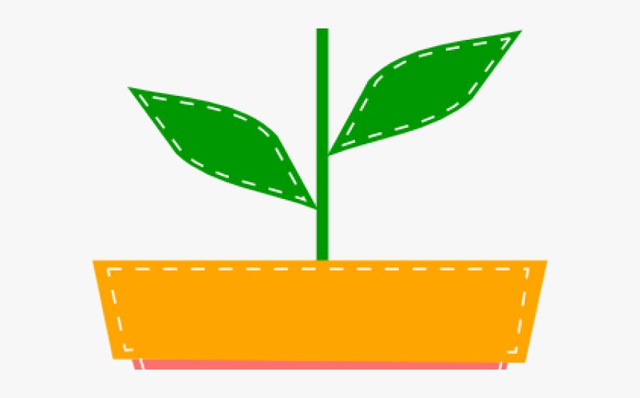 Flowerpots Clipart Svg - Cartoon Flower Pot Drawing, Transparent Clipart