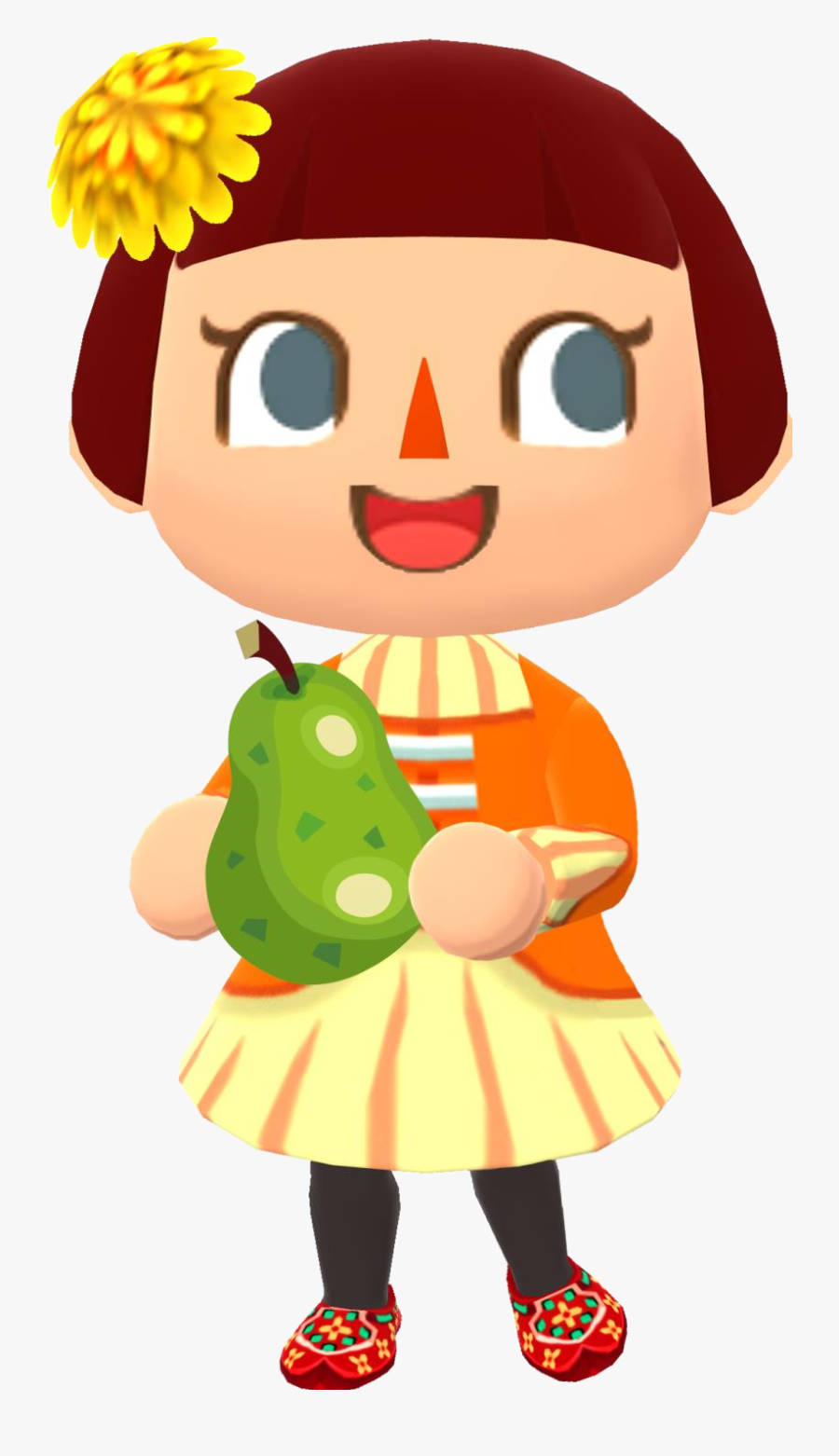 File Pcgirl Animal Crossing - Animal Crossing People Characters, Transparent Clipart