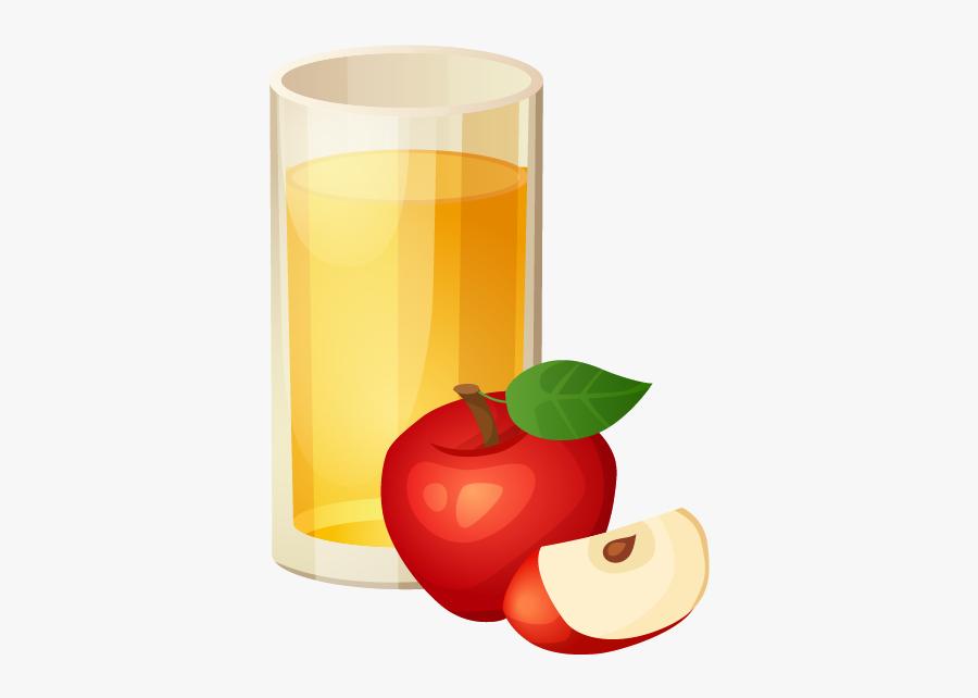 Apple Juice Clipart - Apple Juice Transparent Background, Transparent Clipart