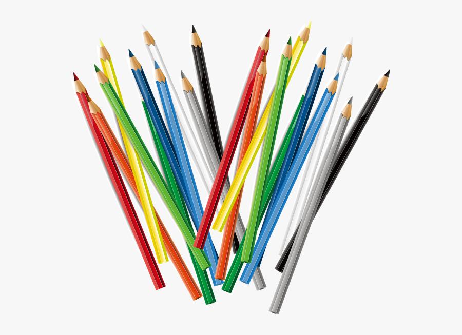 Transparent Colored Pencil Clipart - Color Pencil Png, Transparent Clipart