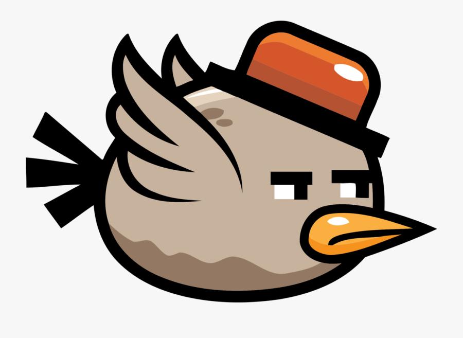 Water Bird,bird,artwork - Flappy Bird Sprite, Transparent Clipart