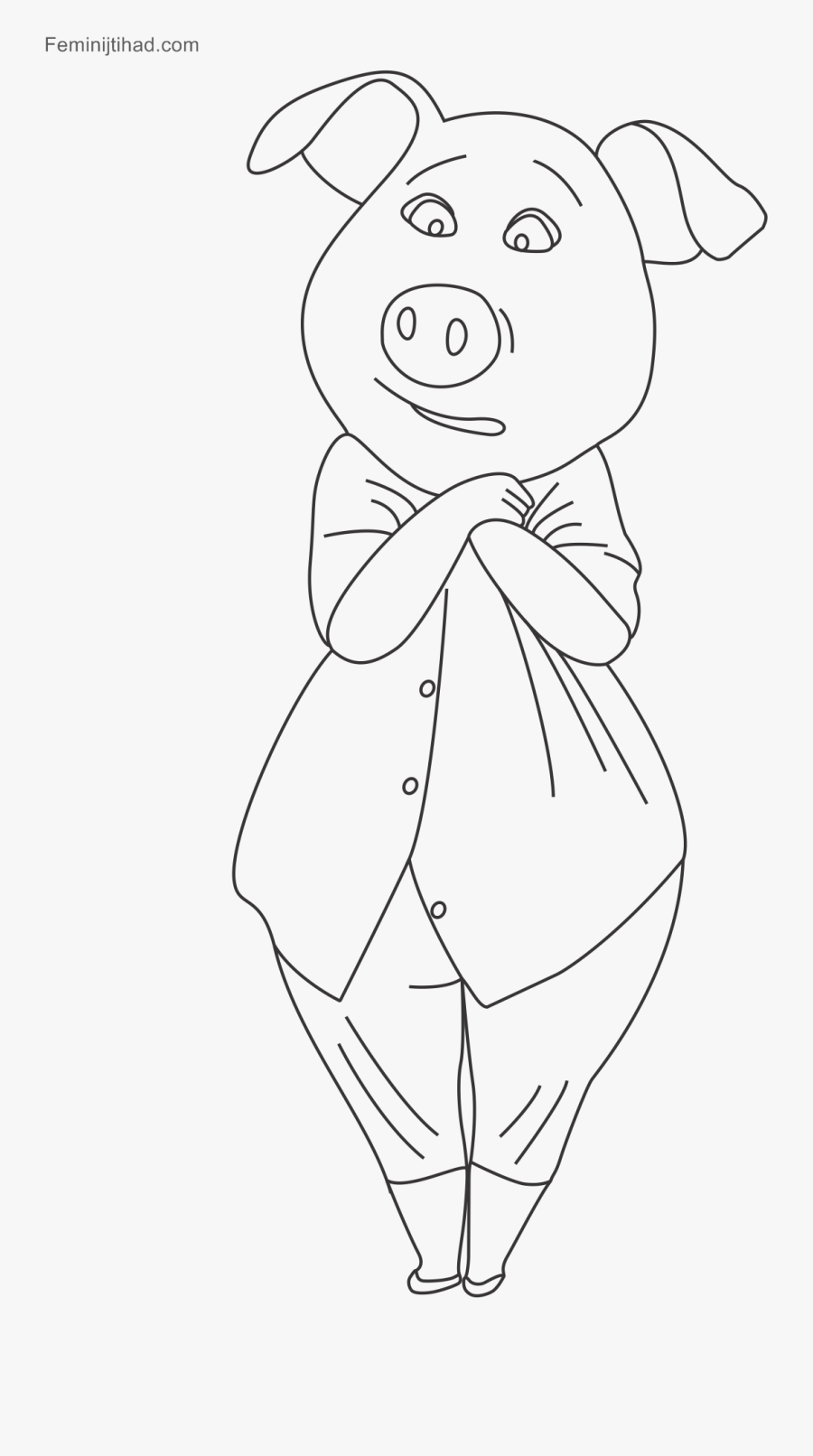 Human Body With Animal Face Drawing, Transparent Clipart