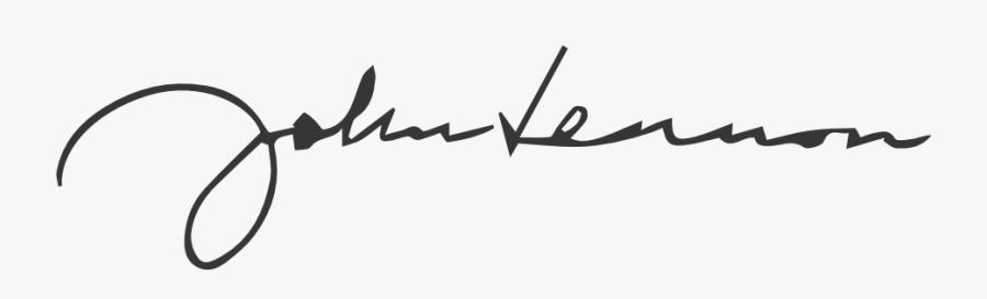 John Lennon John Lennon Signature Box Free Transparent Clipart Clipartkey