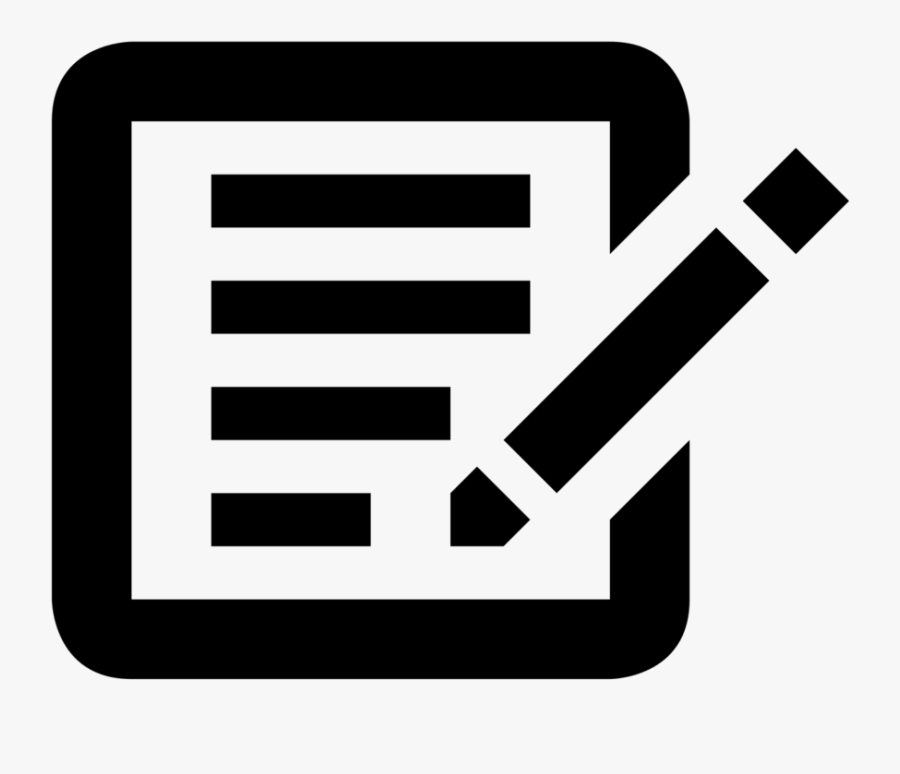 Clip Art Sign In Sheet Clip Art - Sign Up Sheet Icon, Transparent Clipart