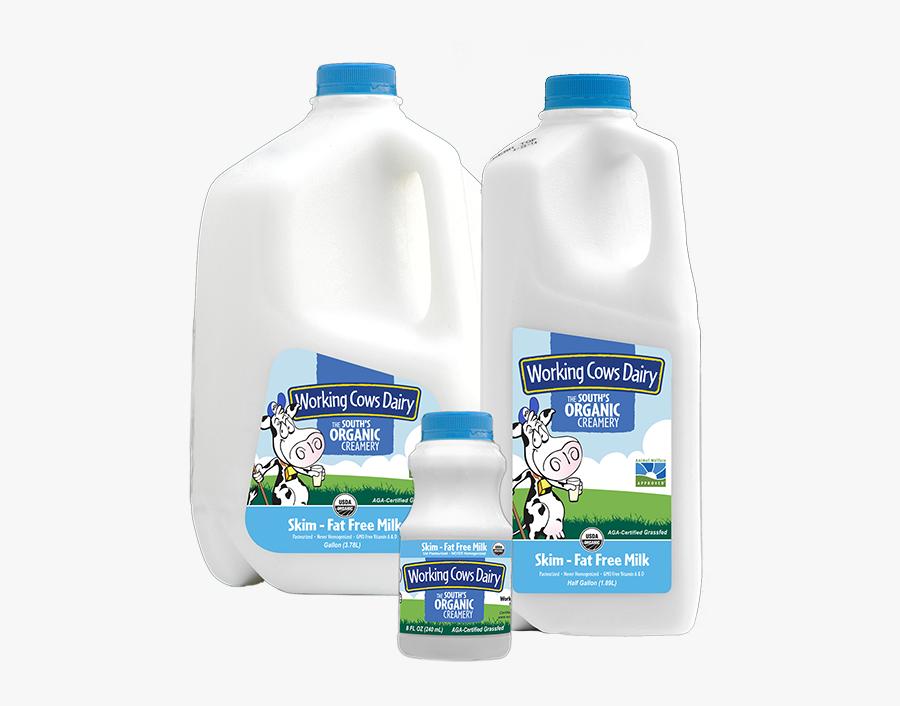 Transparent Gallon Of Milk Clipart - Plastic Bottle, Transparent Clipart