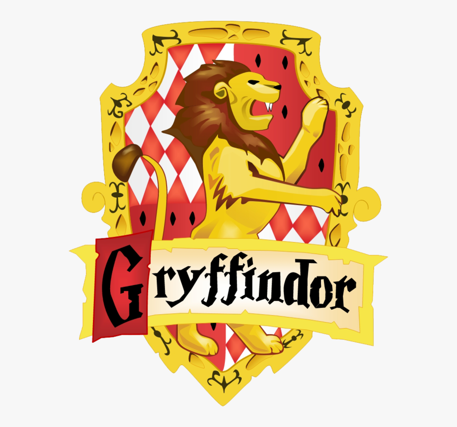 Sorting Hat Hogwarts Harry Potter And The Deathly Hallows - Harry Potter Gryffindor Logo, Transparent Clipart