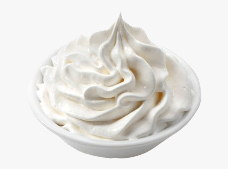 Ice Cream Milk Sorbet Dairy Products - Whipped Cream Png, Transparent Clipart