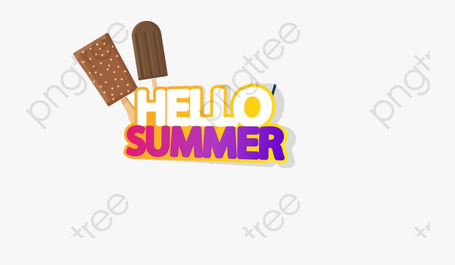 Transparent Summer Break Clipart - Ice Cream Bar, Transparent Clipart