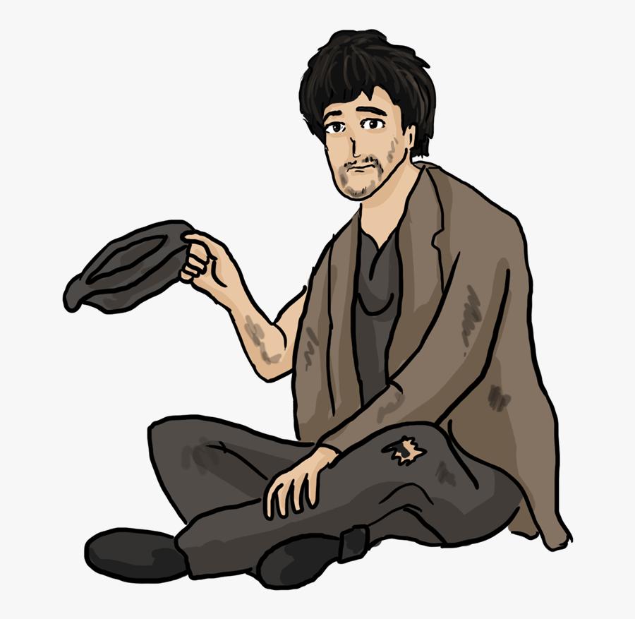 Beggar Clipart Png, Transparent Clipart