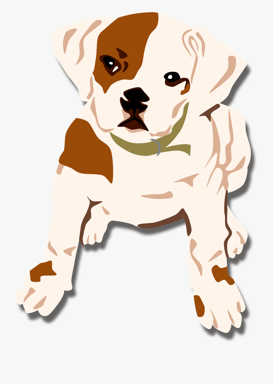 Dog, Bulldog, Puppy, Pet, Canine - Moving Animated Pictures Of Puppies, Transparent Clipart