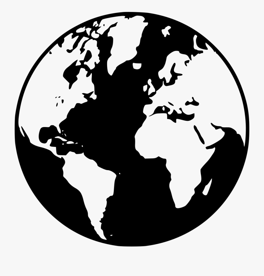 Earth - World Map, Transparent Clipart