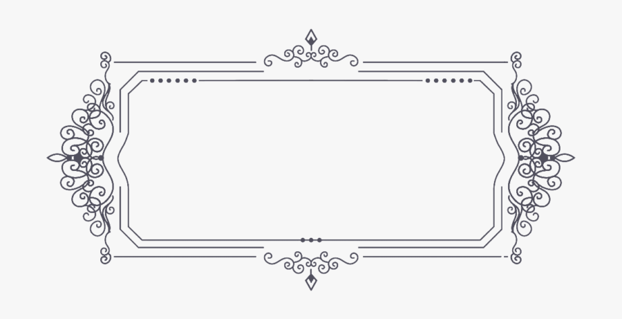 Free Vintage Border Ornaments Png Vector, Clipart, - Vintage Border Png, Transparent Clipart